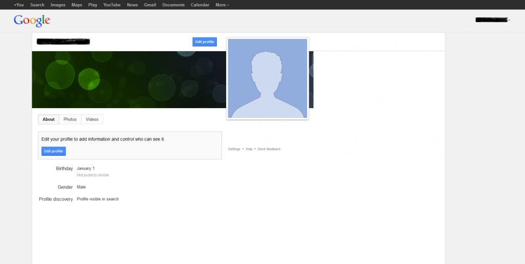 Google Public Profile