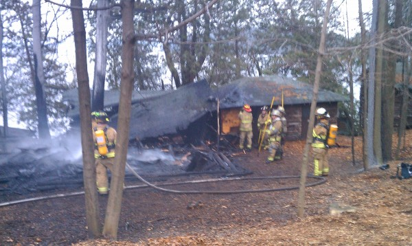 Brown Ledge Camp Fire