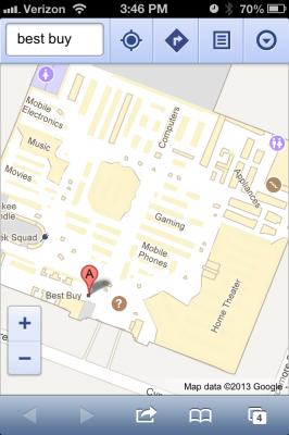 Google Indoor Maps on iOS
