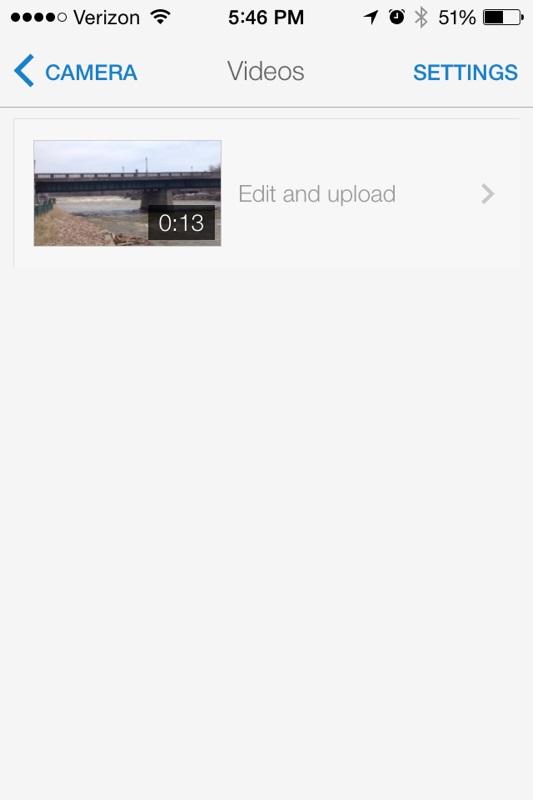 iPhone 1080p HD YouTube Upload - YouTube Capture High