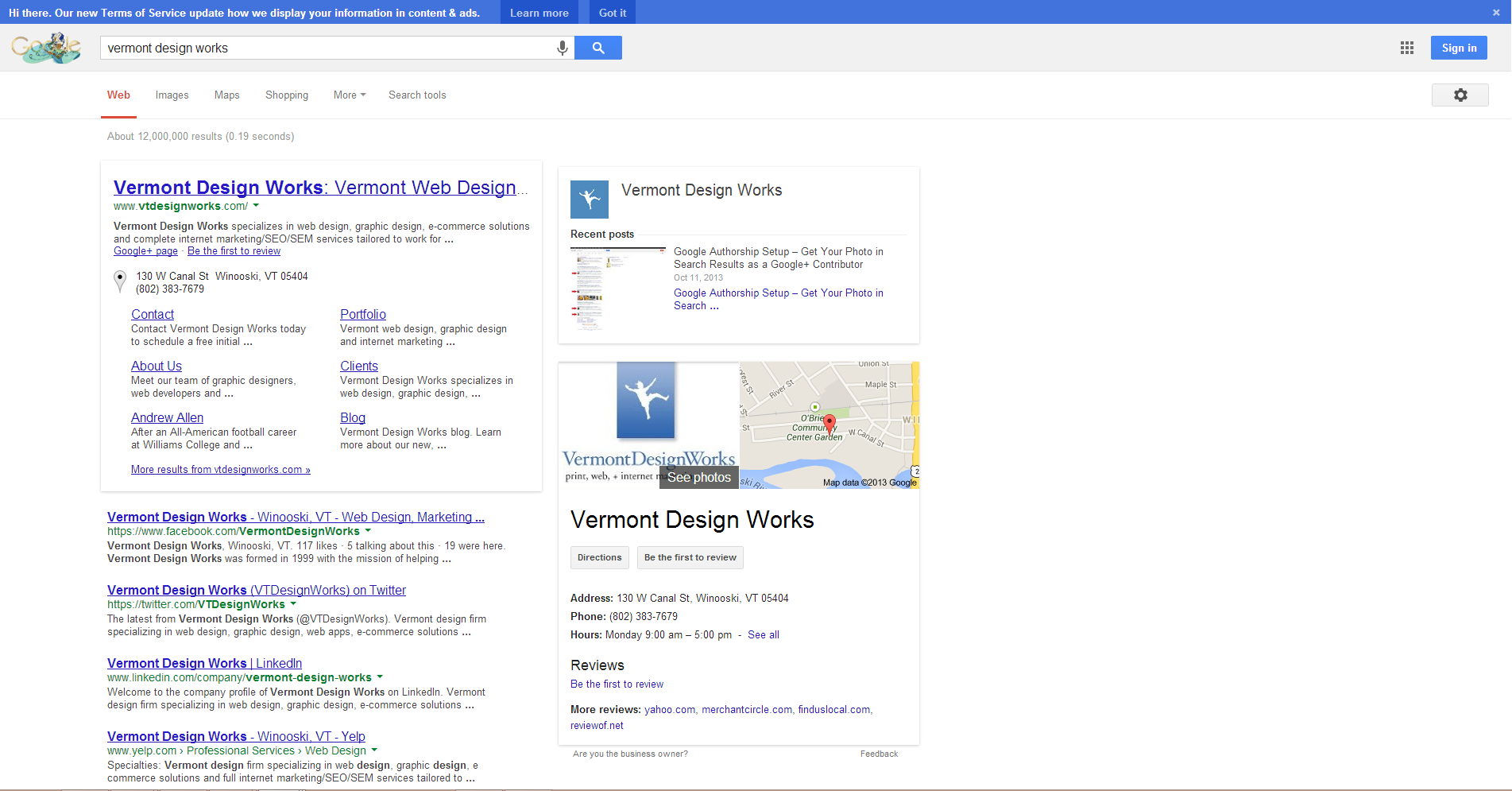 Google Search Results Font Test