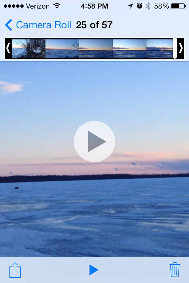 iPhone iOS 7 YouTube Upload - Posting from 5s, 5 and 4s